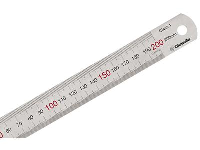 Diesella Stållineal 200×19×0,8 mm