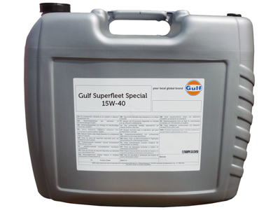 Gulf Superfleet Spec. 15W-40 20 ltr
