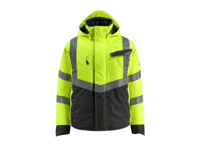 Mascot Hastings vinterjakke hi-vis gul/sort 3XL