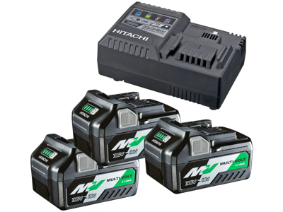 Batteripakke 3×BSL36A18 multivolt + lader UC18YSL3