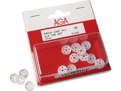AGA X11 nylonpakning 10 stk