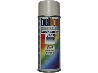 Belton spray 324 cremehvid RAL9001