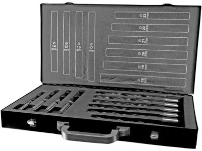 Ruko Borsæt konus Terrax DIN345 14-23mm