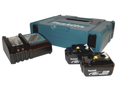 Batteripakke 4Ah 2×BL1840+1×DC18RC