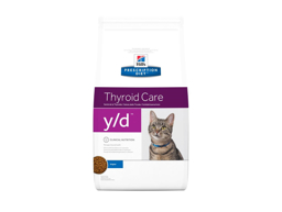 HILL'S PRESCRIPTION DIET FELINE Y/D THYROID CARE ORIGINAL KATTEMAD