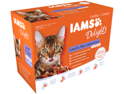 IAMS ADULT LAND AND SEA KATTEMAT