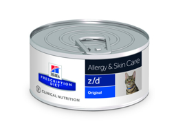 HILLS PRESCRIPTION DIET FELINE Z/D ALLERGY & SKIN CARE ORIGINAL KATTMAT