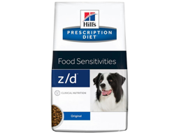 HILL'S PRESCRIPTION DIET FOOD SENSITIVITIES Z/D HUNDEFODER