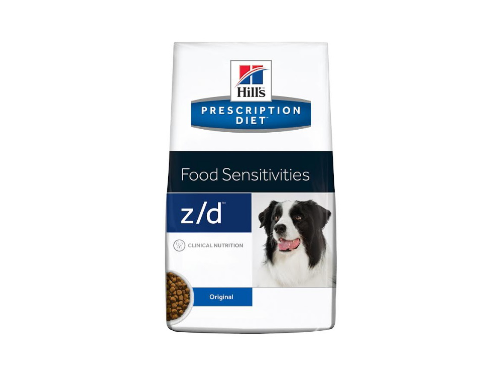 HILL'S PRESCRIPTION DIET CANINE Z/D FOOD SENSITIVITIES HUNDEFODER