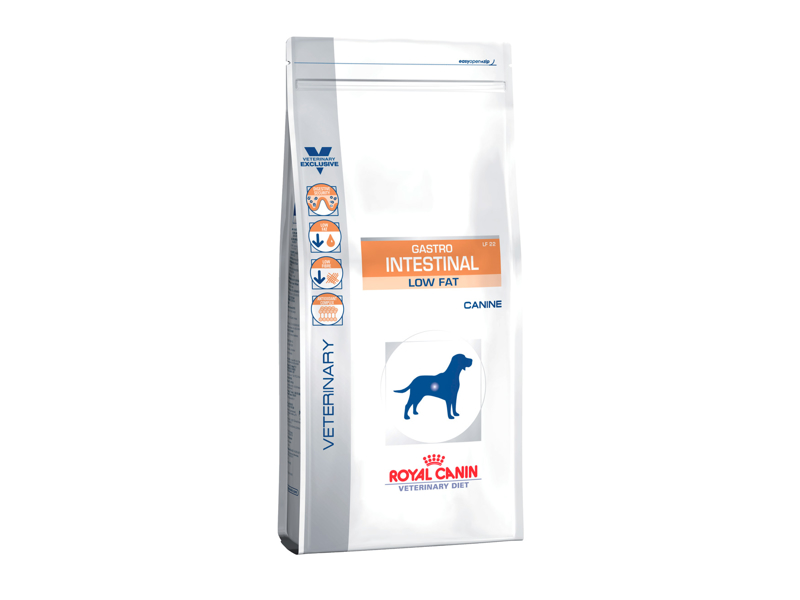 ROYAL CANIN VETERINARY DIET CANINE GASTRO INTESTINAL LOW FAT HUNDEFODER