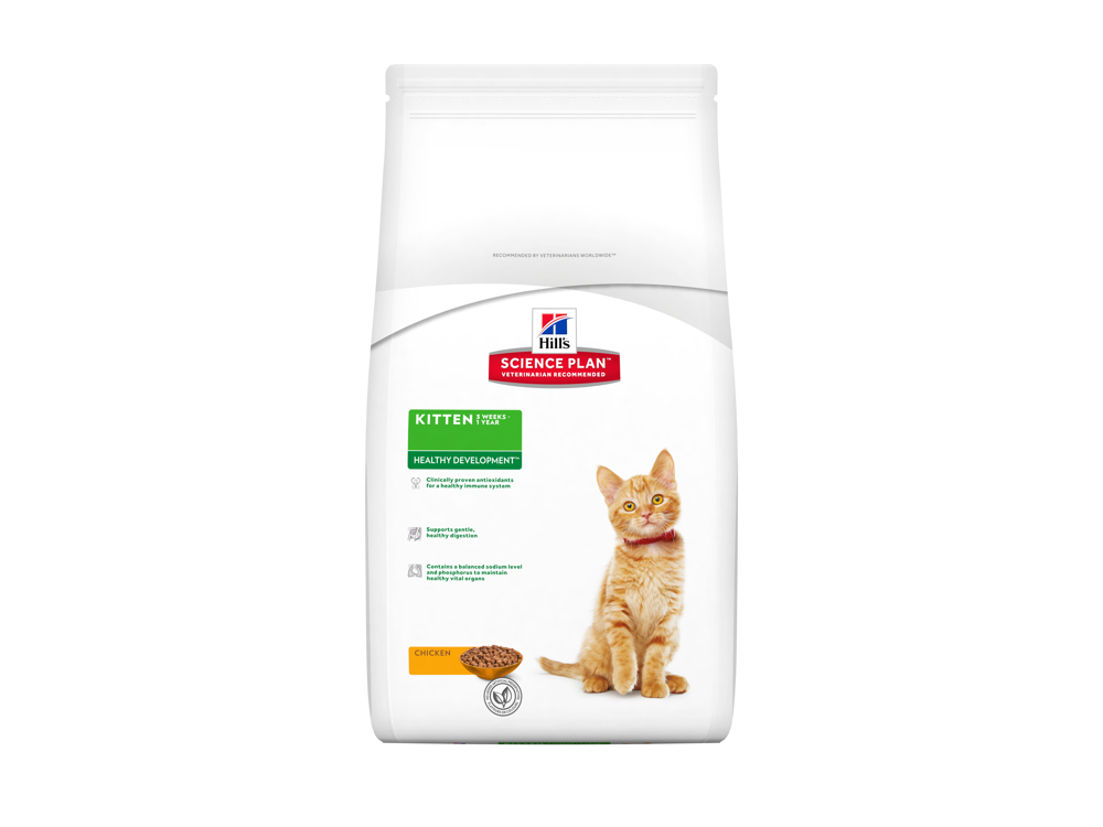 HILL'S SCIENCE PLAN KITTEN HEALTHY DEVELOPMENT CHICKEN KISSANRUOKA