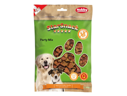NOBBY STARSNACK PARTY MIX GRAINFREE HUNDGODIS