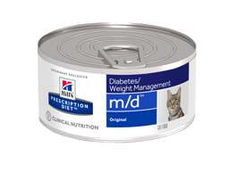 HILL'S PRESCRIPTION DIET FELINE M/D DIABETES/WEIGHT MANAGEMENT ORIGINAL KATTEMAD