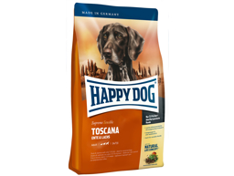 HAPPY DOG SUPREME TOSCANA HUNDEFODER