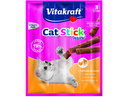 VITAKRAFT CAT STICK KALKKUNA/LAMMAS