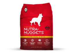 NUTRA-NUGGETS LAMB MEAL / RICE