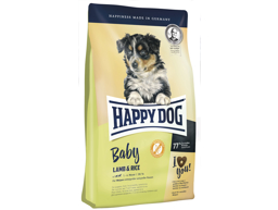 HAPPY DOG BABY LAM OG RIS HUNDEFODER