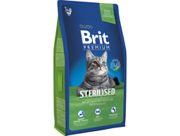 BRIT PREMIUM STERILISED KATTEMAD