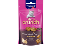 VITAKRAFT CRISPYCRUNCH SUPERFOOD CHIA KATTEGODBIT