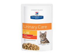 HILLS PRESCRIPTION DIET FELINE C/D URINARY CARE STRESS WITH CHICKEN KATTEMAD