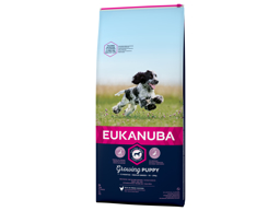 EUKANUBA GROWING PUPPY MEDIUM HUNDEFODER