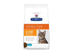 HILL'S PRESCRIPTION DIET FELINE C/D URINARY CARE MULTICARE WITH OCEAN FISH KATTEMAD