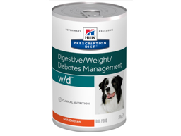 HILL'S PRESCRIPTION DIET DIGESTIVE/WEIGHT/DIABETES MANAGEMENT W/D HUNDEFODER