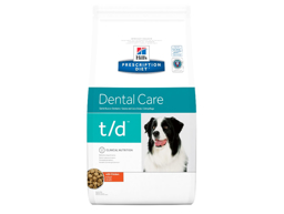 HILL'S PRESCRIPTION DIET CANINE T/D DENTAL CARE WITH CHICKEN HUNDEFODER