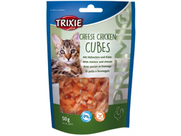 TRIXIE PREMIO CHEESE CHICKEN CUBES KISSANHERKKU