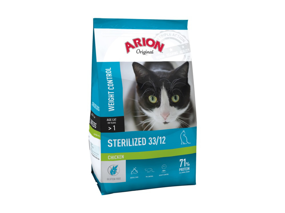 ARION ORIGINAL CHICKEN STERILIZED