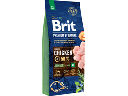 BRIT PREMIUM BY NATURE JUNIOR XL HUNDEFODER