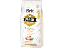 BRIT FRESH ADULT GREAT LIFE WITH CHICKEN HUNDEFÔR