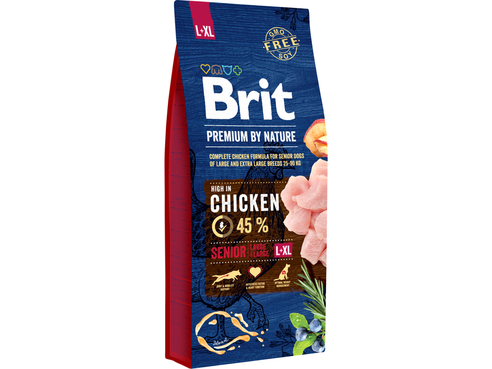 BRIT PREMIUM BY NATURE SENIOR L/LX KOIRANRUOKA