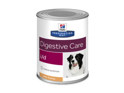 HILL'S PRESCRIPTION DIET CANINE I/D DIGESTIVE CARE WITH TURKEY HUNDFODER