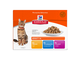 HILL'S SCIENCE PLAN FELINE ADULT OPTIMAL CARE KATTEMAD