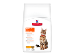 HILL'S SCIENCE PLAN FELINE ADULT OPTIMAL CARE CHICKEN KATTEMAT