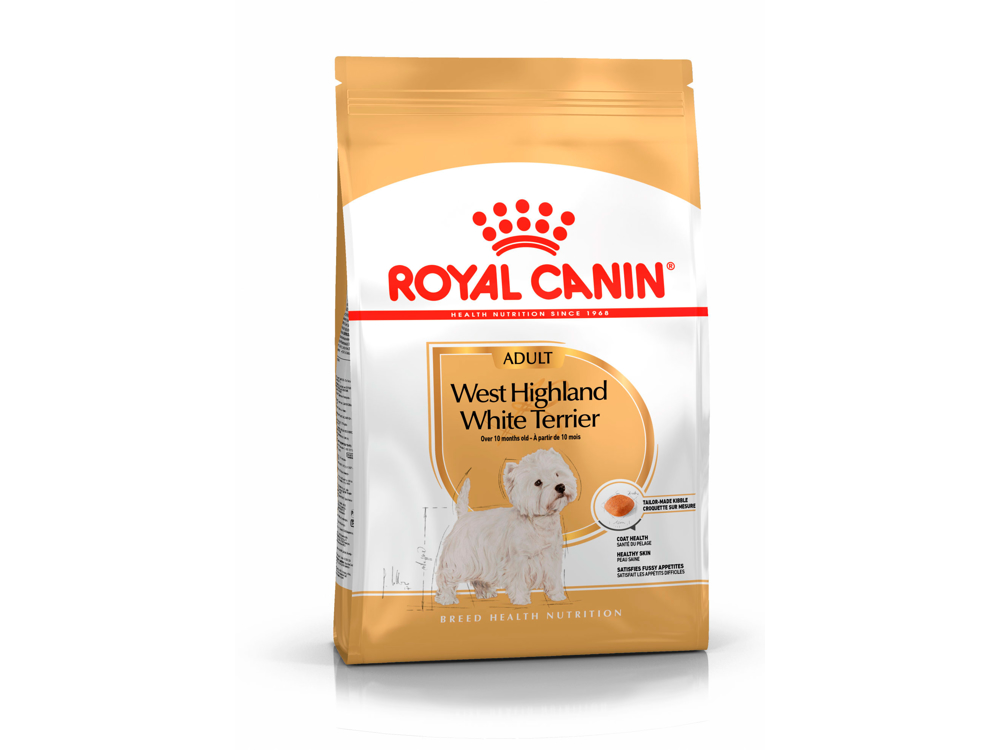ROYAL CANIN WEST HIGHLAND WHITE TERRIER ADULT HUNDEFODER