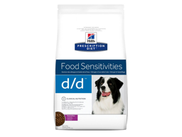 HILL'S PRESCRIPTION DIET CANINE D/D FOOD SENSITIVITIES WITH DUCK & RICE HUNDEFODER