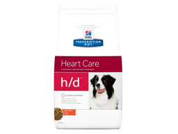 HILL'S PRESCRIPTION DIET CANINE H/D HEART CARE WITH CHICKEN HUNDEFODER