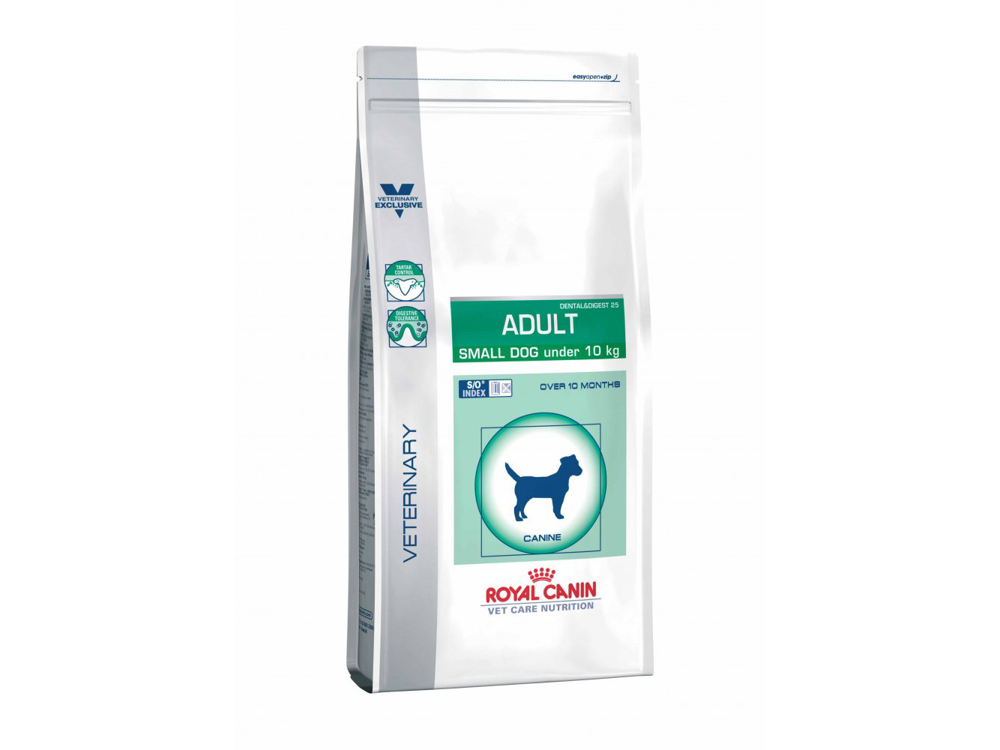 ROYAL CANIN VETERINARY CARE NUTRITION CANINE ADULT SMALL DOG HUNDEFODER