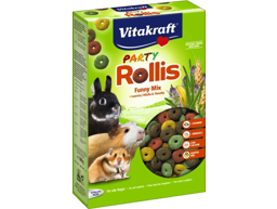 VITAKRAFT PARTY ROLLIS GNAGERSNACK