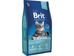 BRIT PREMIUM SENSITIVE KATTEMAD