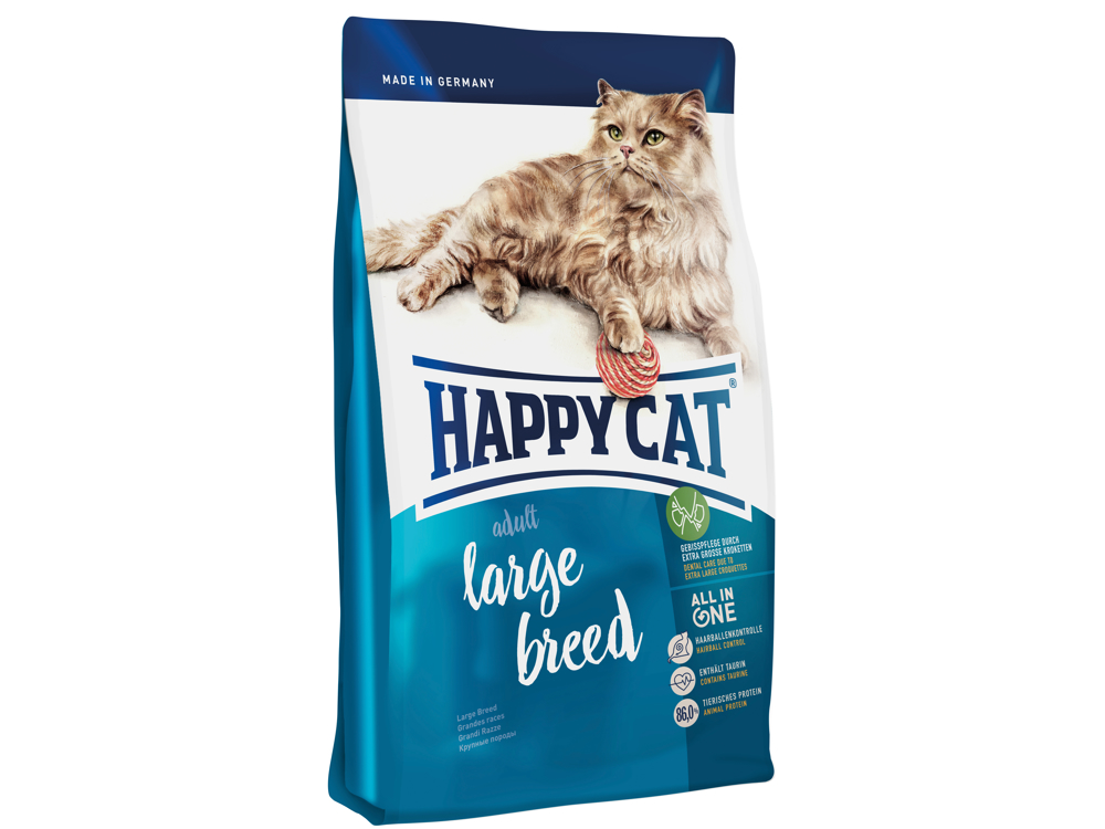 HAPPY CAT LARGE BREED KATTEMAD