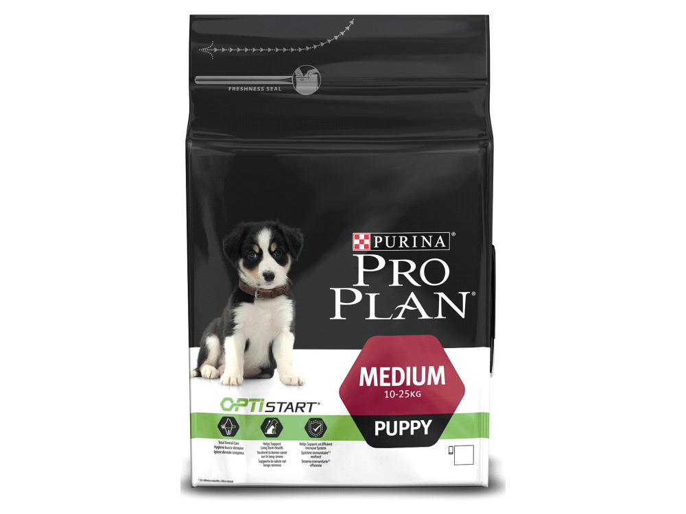 PURINA PRO PLAN OPTISTART PUPPY MEDIUM HUNDEFODER