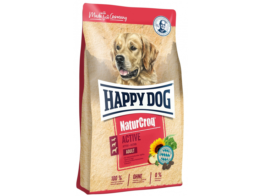 HAPPY DOG NATURCROQ ACTIVE KOIRANRUOKA