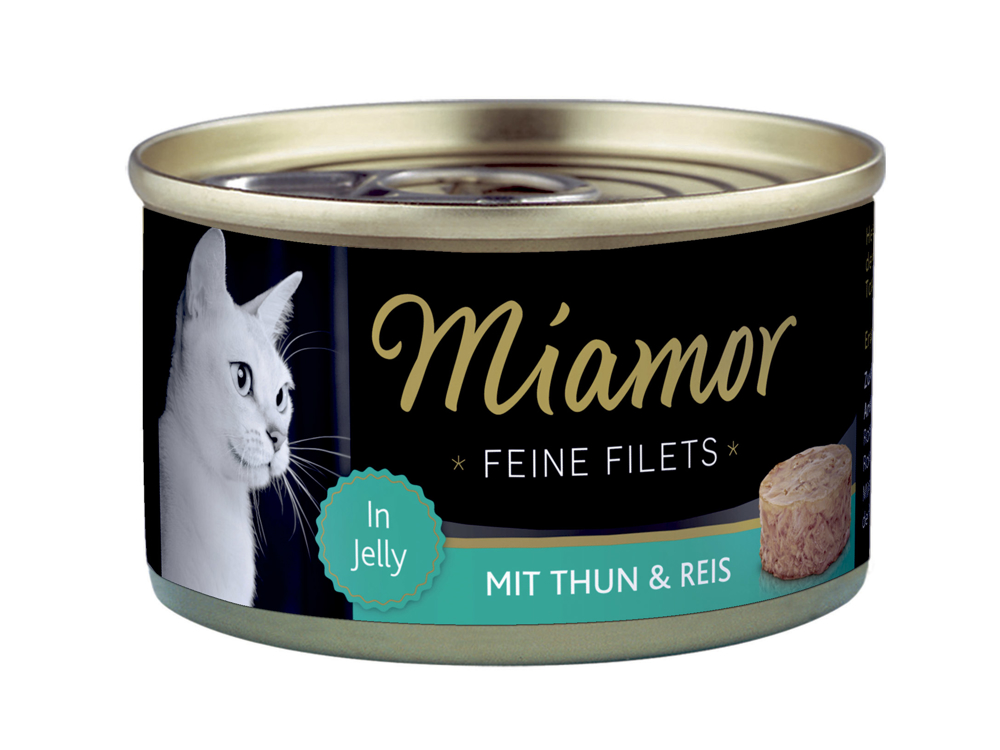 MIAMOR FILET TUN OG RIS KATTEMAD