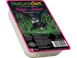 NATUREDIET PUPPY-JUNIOR KYLLING OG LAM HUNDEFODER