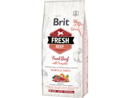 BRIT FRESH PUPPY LARGE GROWTH AND JOINTS WITH BEEF HUNDEFÔR