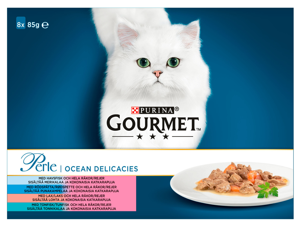 PURINA GOURMET PERLE FISK KATTEMAD