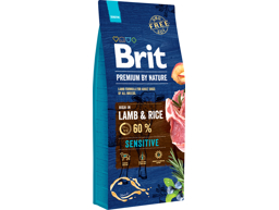 BRIT PREMIUM BY NATURE SENSITIVE HUNDEFODER